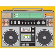 Rad Boombox Journal by Unnamed Anonymous