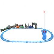 DealBindaas Remote Train 3 Bogies 2.5 Feets Track