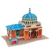 """Cubicfun Cubic Fun 3d Puzzle Model 26pcs Turkiye Flavor Carpets Shop 6.5"""""""