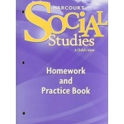 Harcourt Social Studies Homework and Practice Book, Grade 1 by Harcourt School Publishers
