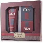 Set cadou - Man - Gel de dus, apa de parfum si after shave spicy red