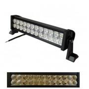 Proiector LED Bar Auto Offroad 24 LEDuri 72W 12V/24V