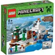 LEGO Minecraft De Sneeuwschuilplaats - 21120