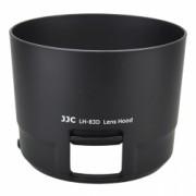 JJC Parasolar pentru obiectiv Canon ET-83D, negru