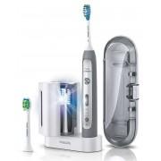 Звукочестотна четка за зъби Philips Sonicare Flexcare Platinum Grey Edition HX9172/14 + UV санитайзер