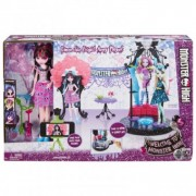 Monster High Draculaura Doll Dance Fright Playset DNX68