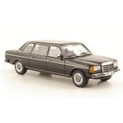 Mercedes 240D largo (V123), negro, W123-versión larga , 1978, Modelo de Auto, modello completo, Neo 1:43