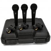 Devine DM 10 kit dynamische microfoon (set van 3)