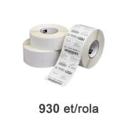 Role de etichete Zebra Z-Select 2000D 102x76mm, 930 et./rola