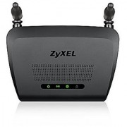 ZyXEL - Wireless N300 Fast Ethernet Router w/Fixed Antenna (NBG418NV2)