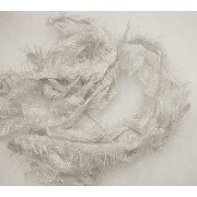 Ezüstszál, textil szövött szél méterben/Cikksz:150055
