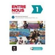 Vv.aa. Entre Nous 1 Livre De L Élève + Cahier D Activites + 2 Cd