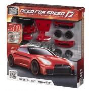Mega Bloks - 95711U - Set de construcción - Need for Speed Nissan GTR