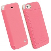 Krusell Malmo Flip Cover Case for iPhone 5/5S (Pink)