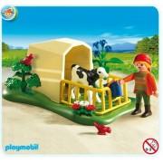 Cow Calf Farming Pen Life Playmobil