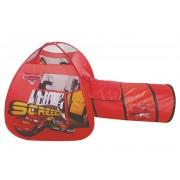 Barraca com Túnel Portátil Carros Disney Zippy Toys - Vermelho