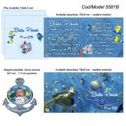 Invitatii si Magneti Botez Nemo