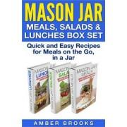 Mason Jar Meals, Salads & Lunches Box Set by Amber Brooks