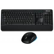 Kit tastatura si mouse Microsoft Desktop 2000, fara fir