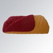 Покривало за легло PNG оранж/бордо