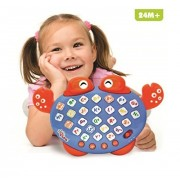 Kani Alphabet Electronic Learning Game Phonic Song Spelling Color Lights Toy New Press Buttons To Learn Alphabet Music Spelling And Colors
