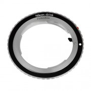 Fotodiox Lens Mount Adapter Nikon Lens to Canon EOS Camera Body for Canon EOS 1D 1DS Mark II III IV 1DX 1DC 5D 5D Mark II II 7D 10D 20D 30D 40D 50D 60D 70D Digital Rebel T2i T3 T3i T4i. T5i C300 C500