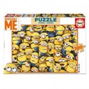 Educa Minions fa puzzle, 100 darabos