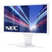 NEC MultiSync EA234WMi white 23' LCD monitor with LED backlight, IPS panel, resolution 1920x1080, VGA, DVI, DisplayPort, HDMI, speakers, 130 mm height adjustable