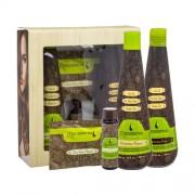 Macadamia Rejuvenating Shampoo Kit 300ml für Frauen - Shampoo Rejuvenating Shampoo 300 ml + Maske Deep Repair Masque 30 ml + Öl Healing Oil Treatment 30 ml + Spülung Moisturizing Rinse 300 ml für trockenes und geschädigtes Haar