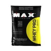 Whey Pro - 1500g Refil Chocolate - Max Titanium