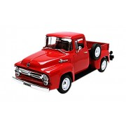 Welly - 19831r - Ford - F100 pick-up - 1956 - 1/18 Scala