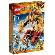 LEGO Legends of Chima - El león flamígero de Laval, juego de construcción (70144)