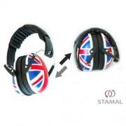 A-Plast Słuchawki ochronne nauszniki dla dzieci ok 1-12lat - flaga brytyjska