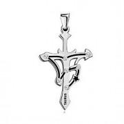 Pingente de aço inoxidável Taurus Moda