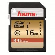 Card Hama SDHC 16GB Clasa 10 45MB/S