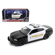 2011 Dodge Charger Pursuit San Gabriel Police Car 1/24 Car Model by Motormax
