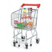 Melissa And Doug Shopping Cart With Fridge Food Set