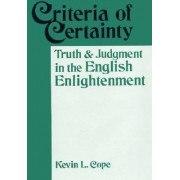 Criteria of Certainty by Kevin Lee Cope
