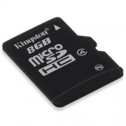 KINGSTON Karta Pamięci microSDHC 8GB bez adaptera