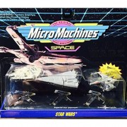 Micro Machines Star Wars Space set - Millennium Falcon Imperial Star Destroyer X-wing Starfighter