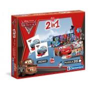 Clementoni 'Cars 2' 2In1 Education Kit