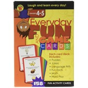 Brighter Child Everyday Fun and Game Cards Grades 4 - 5 Flash Card