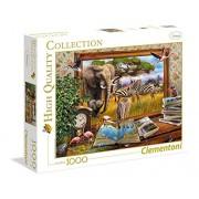 Clementoni - 39296.4 - Puzzle - Venir à la vie - 1000 pièces