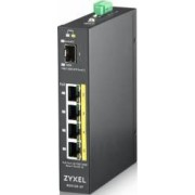 Switch ZyXEL RGS100-5P PoE 4-port Gigabit 1x SFP