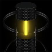 Traser H3 Schlüsselanhänger selbstleuchtend trigalight gelb