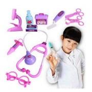 ZEARO Pretend Play Doctor Set -Conjuntos de Médicos Juguete de Infantil ,Herramiento Kit de Hospital (Azul)