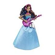Mattel Barbie CMT04 Rockstar A Princess in Camp - Erika With Guitar