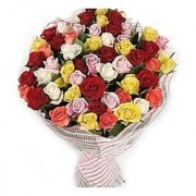 Mixed Rose Bunch - 50 Stem of Mix Roses