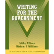 Writing for the Government by Libby Allison