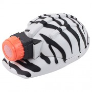 Wild Republic Zoo Builders Hat Zebra, White